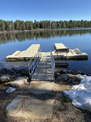 Private Dock with Boat slip and jet ski ports for all your toys!