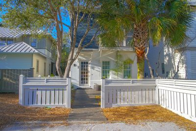 Parking space for guests which is a treat in Rosemary Beach