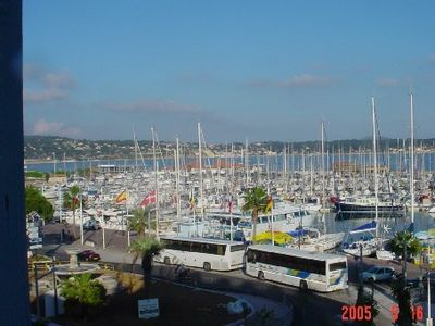 Photo for Bandol, air conditioned apartment with panoramic view over the harbor