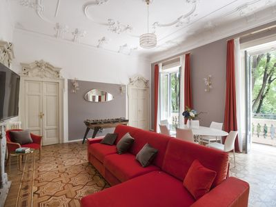 Photo for Acquamarina - Spacious 2 bedroom in the heart of Milan