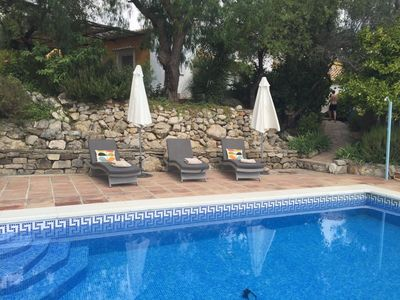 Photo for Casita 1:  Sleeps 4   Relax by the pool with amazing views overlooking the lake!