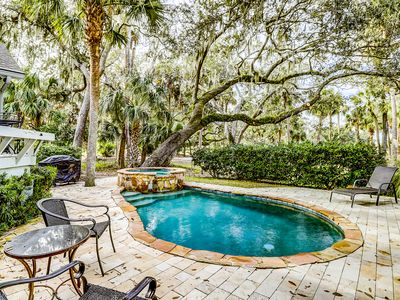 Photo for Inviting house with private pool/spa and views of the golf course!