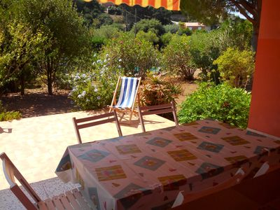 Photo for Saint Florent Charming villa with pool and leafy garden between sea and vines