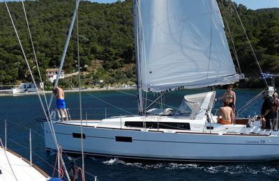 Photo for Yacht Oceanis 38 for your sailing holiday in Greek islands with 3 ...