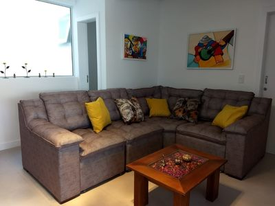 Photo for New Apt 100 m from the sea - Ingleses / Florianópolis