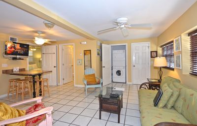 Photo for Condo in historic district w/shared hot tub  - 2 blocks to ocean, dogs OK