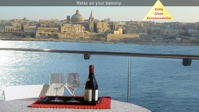 Photo for 5* Your Perfect Holiday - 3 bedroom Apartment, Tas-Sliema, Malta