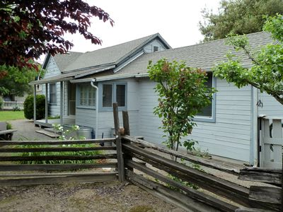 Photo for Updated Vintage Farmhouse -- walking distance to stores, dining & wine tasting