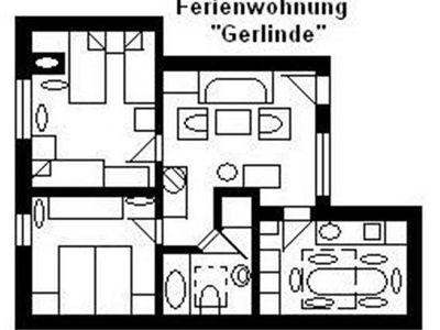 Photo for Apartment U3 = Gerlinde - House U, for 1-15 persons, 25km to FFM-Nord