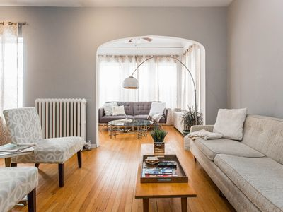Photo for Spacious 2 bed with Rare and Gorgeous Mid Century Decor Lincoln Square