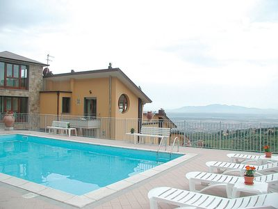 Photo for Apartment in the center of San Baronto with Internet, Pool, Parking (117011)