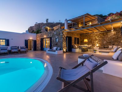 Photo for 8BR Villa Vacation Rental in Mykonos Island, Egeo
