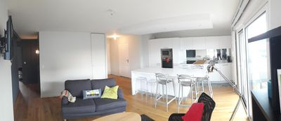 Photo for Saint-Malo, Very nice apartment with large terrace near perfect beach 4 pers
