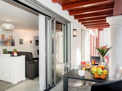 Photo for Exceptional apartment in the heart of St Jean-De-Luz, and 3 minutes from the ocean