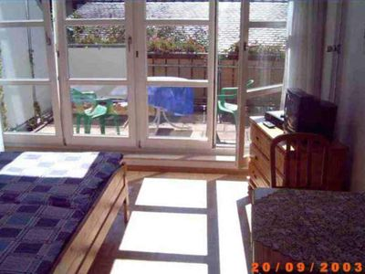 Photo for Apartment 4 40sqm, 1 living / sleeping area, max. 5 persons - Ferienappartements Brüstle