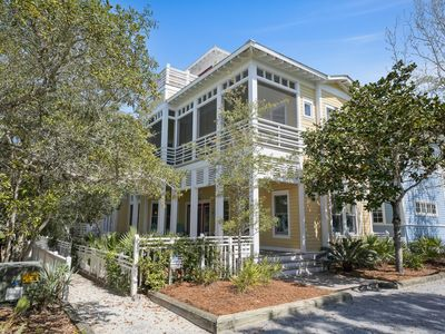 Photo for Four Porches, Tower w/Observation Deck in Seaside! Sleeps 7, Lives Large!
