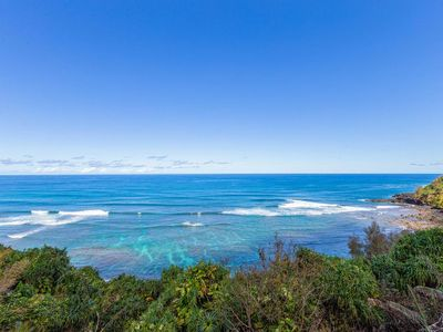 Photo for Luxury Princeville Ocean Front 2 BR/2 BA condo at a DISCOUNT from Aug 24- 29