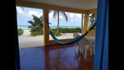 Photo for Casa Reyna - Oceanfront house in El Cuyo, Yucatán