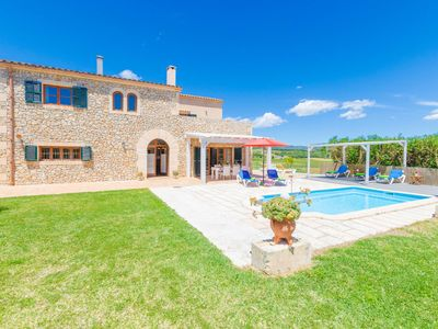 Photo for ANGIGAL - Villa with private pool in Manacor.