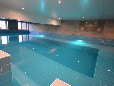 Photo for Rural apartment with pool, sauna, gym near the beach