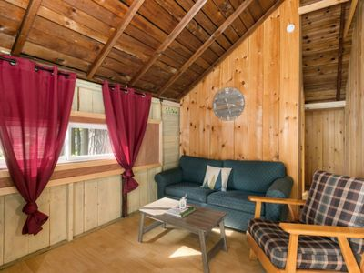 Photo for The Trace at Oak Lake - Charming Lakeside Cabin