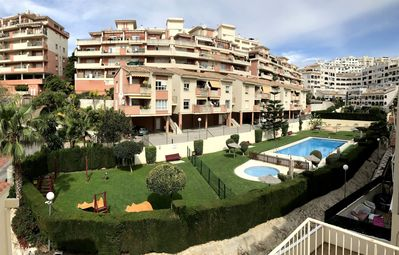 Photo for Huge terrace, 5 minutes to the beach, WIFI, Smart TV, Garage