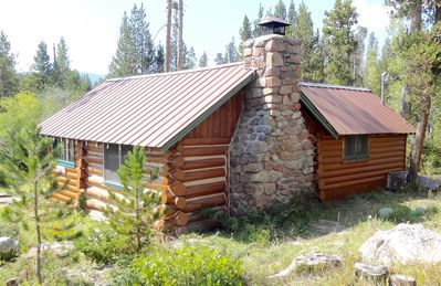 Photo for Historic Cabin On Columbine Lake just outside Rocky Mountain National Park