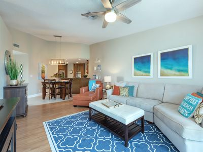 Photo for Beautiful Vista Verde West condo on Isla Del Sol. 1.5 miles to St. Pete Beach.