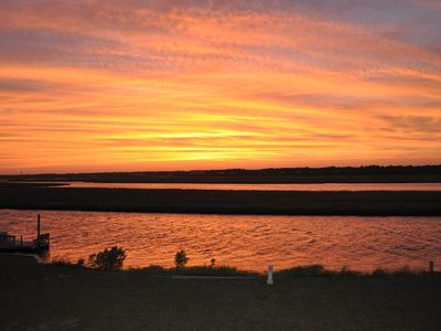 Photo for Beautiful, West End, Ocean Isle Cottage! Sunset Views, Pools, & Beach Accesses.