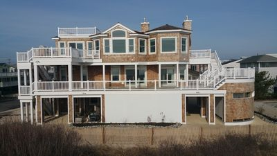 Photo for LUXURIOUS HARVEY CEDARS OCEANFRONT W/POOL & HOT TUB