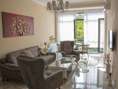 Photo for 5-star Luxury apartment for an exclusive daily price close to Old Tbilisi