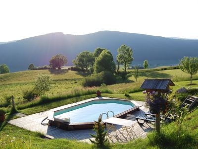 Photo for SUPERB CHALET 14/15 PEOPLE WITH PRIVATE POOL IN VILLARD DE LANS