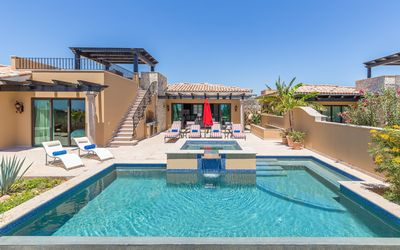 Photo for MUST SEE! Panoramic Villa w/ Infinity Pool, Hot Tub & Private Shuttles!