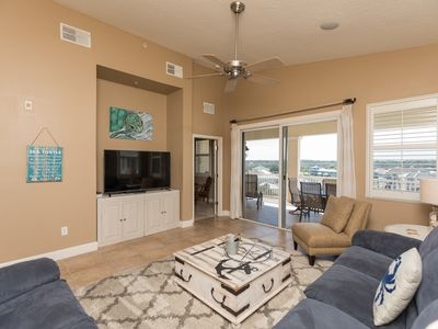 Photo for Top Floor Penthouse Corner Unit in Beautiful Cinnamon Beach - 1065!!
