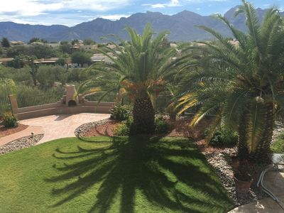 View Northeast from deck. Unobstructed Mountain Views