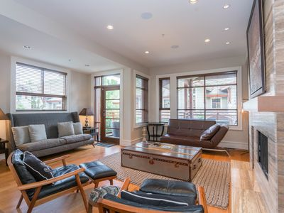 Photo for #38 Fitzsimmons Walk Luxury Townhome 4 Beds, 3.5 Baths Private Hot Tub/Views!