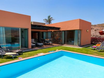 Photo for 2 bedroom Villa, sleeps 4 in El Salobre with Pool, Air Con and WiFi