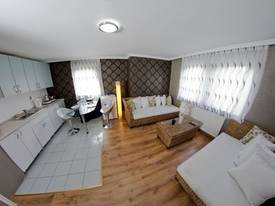 Photo for City Center 1 Bedroom Apart with Kitchen in Ankara. İncluding breakfast in the center of Ankara rent luxury self-catering apartment 1 + 1