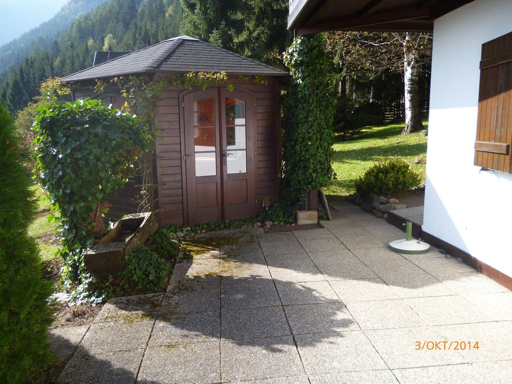 Apartment directly by the woods secluded large terrace for Terrace gazebo