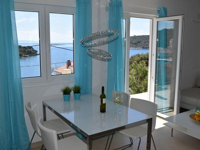 Photo for Apartment Lina - 2 bedrooms - 2 bathrooms - balcony with breathtaking sea views