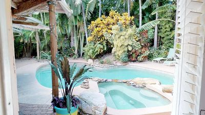 Photo for Traditional Beach Cottages Large  Private Pool and Spa