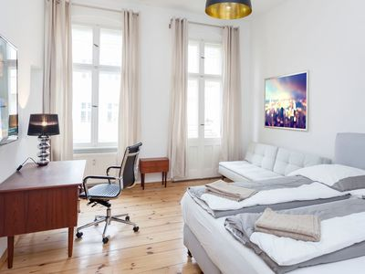 Photo for Apartment in Berlin with Internet, Balcony, Washing machine (739346)