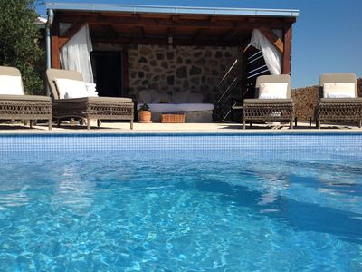 Photo for Stone Cottage In Olive Grove With Lovely View And Private Heated Pool!