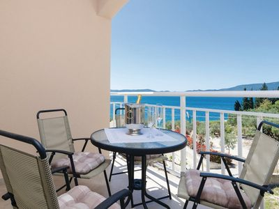 Photo for 1BR Apartment Vacation Rental in Riviera Dubrovnik, Riviera Dubrovnik