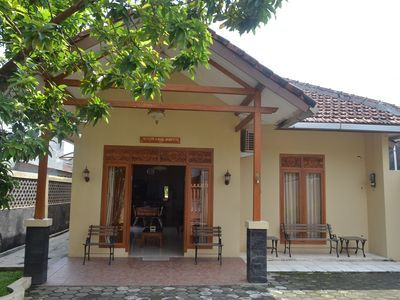 Photo for Simple 3BR House in Yogyakarta + WiFi + TV + Hot Water