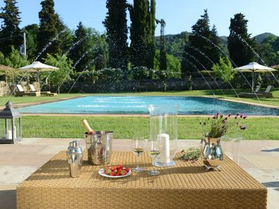 Photo for Villa Venere - Elegant, luxurious 17C villa, hydro pool & spa, Lucca 5 mins