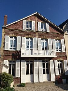 Photo for Charming family villa with garden 150 meters from the beach at Etretat