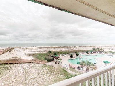 Photo for NEW LISTING! Waterfront condo near town w/ beach access, shared pool, & hot tub