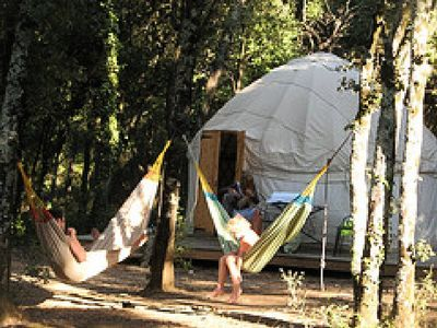 Photo for Camping Mille Etoiles ** - Yurt Romantic 2 People