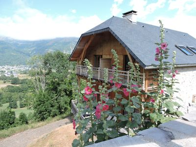 Photo for exceptional contemporary view cottage and exposure to 4 minutes from St Lary Soulan